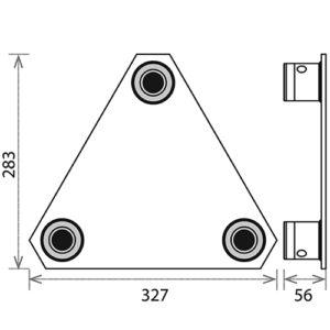 Опорная площадка_PLB-33_чертеж