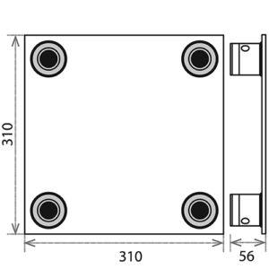 Опорная площадка_PLB-34_чертеж