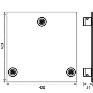 Опорная площадка_PLB-43_чертеж