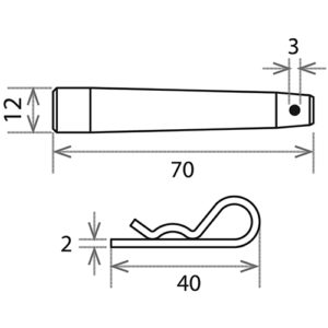 Палец + шплинт 2 мм_CS1-TP + CS1-RS2_чертеж