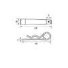 Палец + шплинт 3 мм_CS3-TP + CS3-RS3_ТТ_чертеж