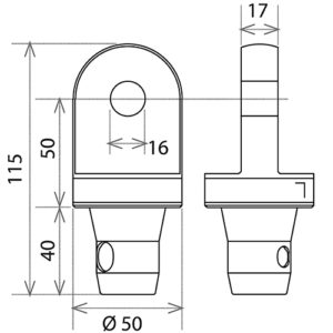 Шарнирный комплект CS1-HS L_R_чертеж_2