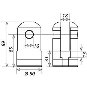 Шарнирный комплект CS1-HS L_R_HD_FD_2