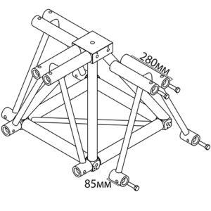 Угловое-соединение_BLK-A-FT50_чертеж