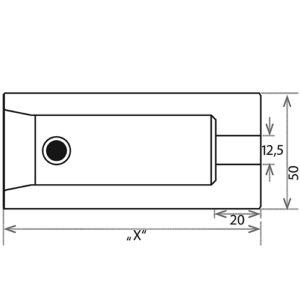 Гнездо для мульти-грани BLK-42 CS1-BOB100 чертеж